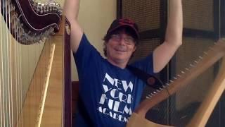 Nicolas Carter Improvisation with Harp and Lyre