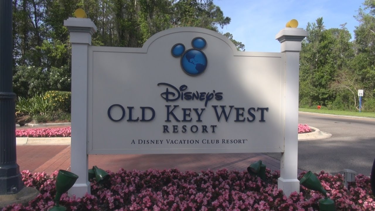 old key west resort comprehensive tour - walt disney world florida