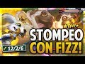 ¡LA SKIN MAS RARA? | STOMPEANDO CON LA NUEVA SKIN DE FIZZ! | League of Legends