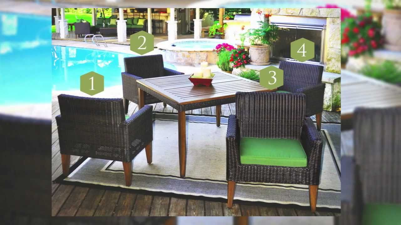 Indio 5 Piece Outdoor Dining Set   Veranda Classics By Foremost