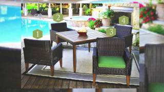 Indio 5 Piece Outdoor Dining Set - Veranda Classics By Foremost