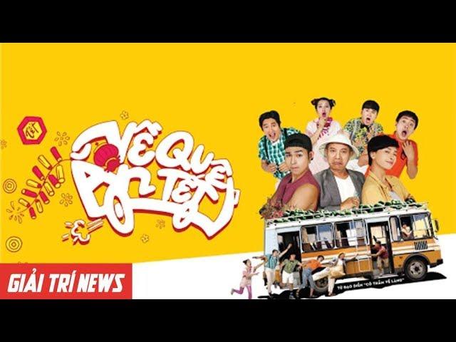 Jun Phạm, Will, S.T và Isaac hội ngộ cùng nhau buổi ra mắt phim Về Quê Ăn Tết