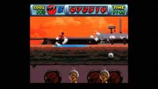 Cool Spot (SNES) - Dock and Roll (0:52)