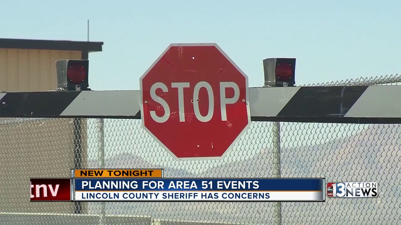 Lincoln Co  Sheriff: Do not attempt to cross into Area 51