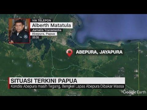 Situasi Terkini Papua: Tegang! Bengkel Lapas Abepura Dibakar Massa