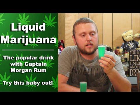 Liquid Marijuana Shot Recipe | Captain Morgan Drinks