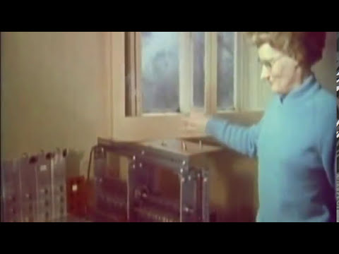 Daphne Orams 1960s Optical Synthesizer Oramics Machine   Electronic Music Pioneer   YouTube