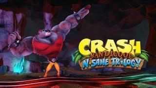 CRASH BANDICOOT no PS4 #3 - Tá Cada Vez Mais Difícil! (Gameplay no PS4 Pro)