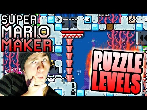 Super Mario Maker / SEANHIP Puzzle Levels [Just Add Water, Fish Out Of Water, Thwomp Smash]