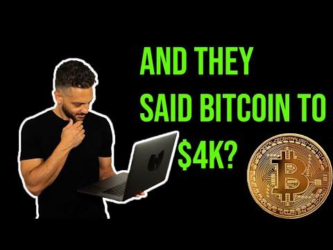 BITCOIN To $4K? How I Profited From Bitcoin Anyway