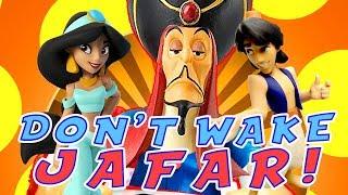 Aladdin & PJ Masks Play the Don't Wake Daddy Jafar Mystery Game With Clues! W/ Jasmine & Catboy