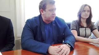 Пресс-конференция в КБУ Бердска