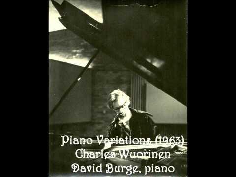 Charles Wuorinen Piano Variations