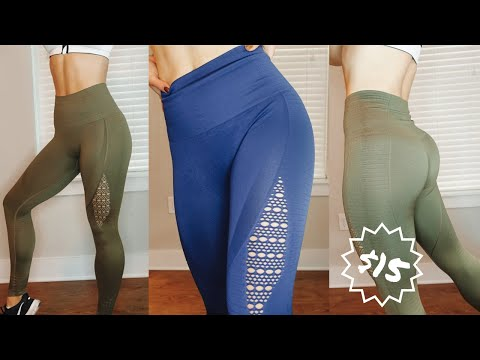 4e768c6414856 Gymshark Energy Seamless Legging EXACT DUPE for $15!! | Aliexpress vs  Gymshark Comparison