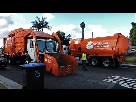 Waste Resources Trash Truck Compilation