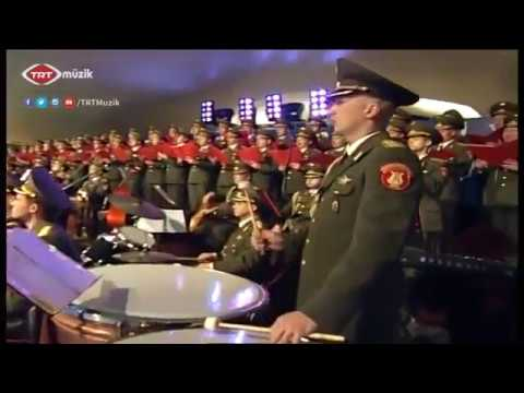 Red Russian Army live in Turkey and performs Turkish Mehter Marches