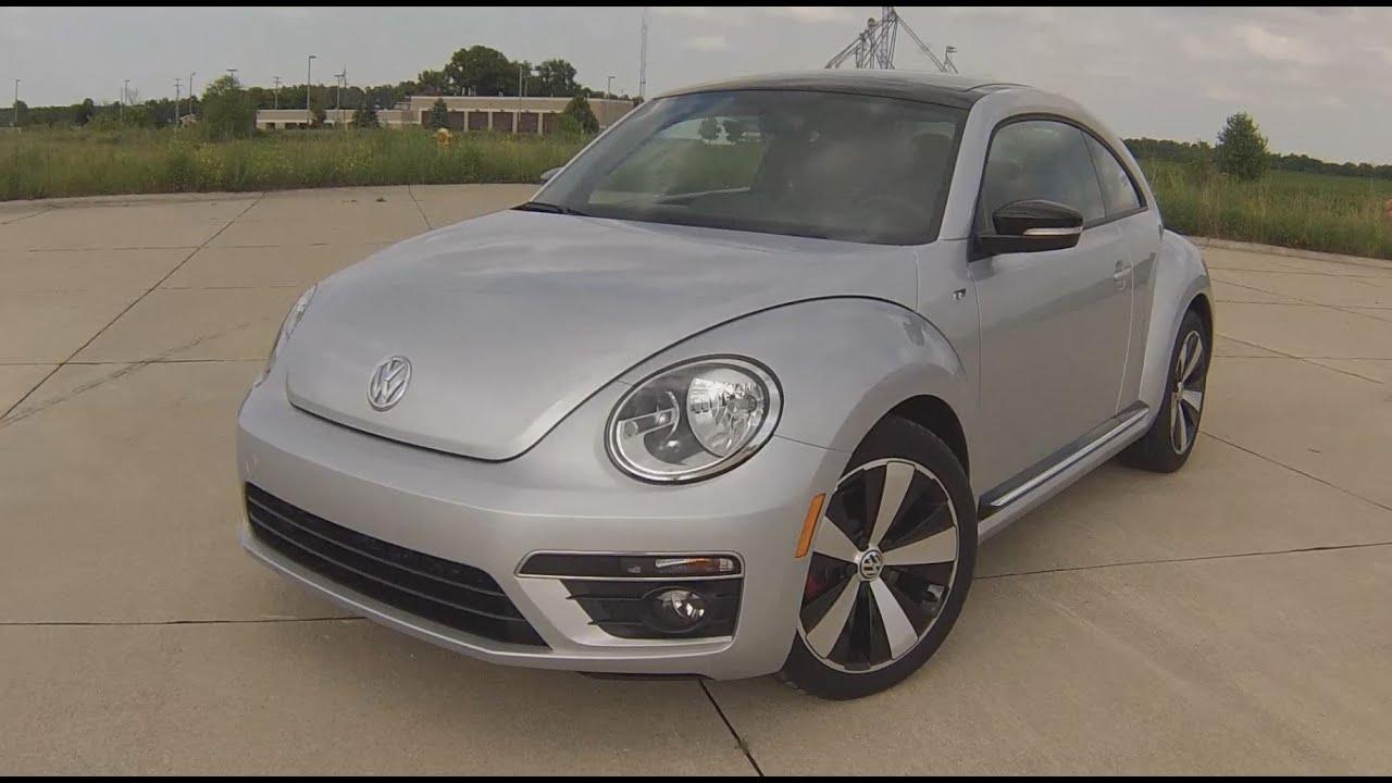 2014 Volkswagen Beetle R-Line Review - YouTube