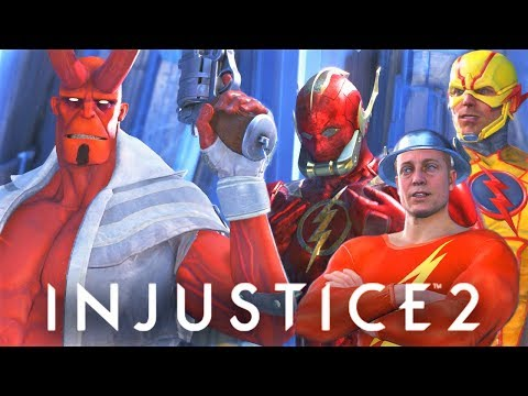 Thumbnail: INJUSTICE 2 - ALL Hellboy vs All Speedsters intro Dialogues!