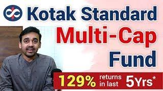 Mutual Fund Review: Kotak Standard Multicap Fund | Top Multi Cap Fund for 2019 | Detailed Analysis