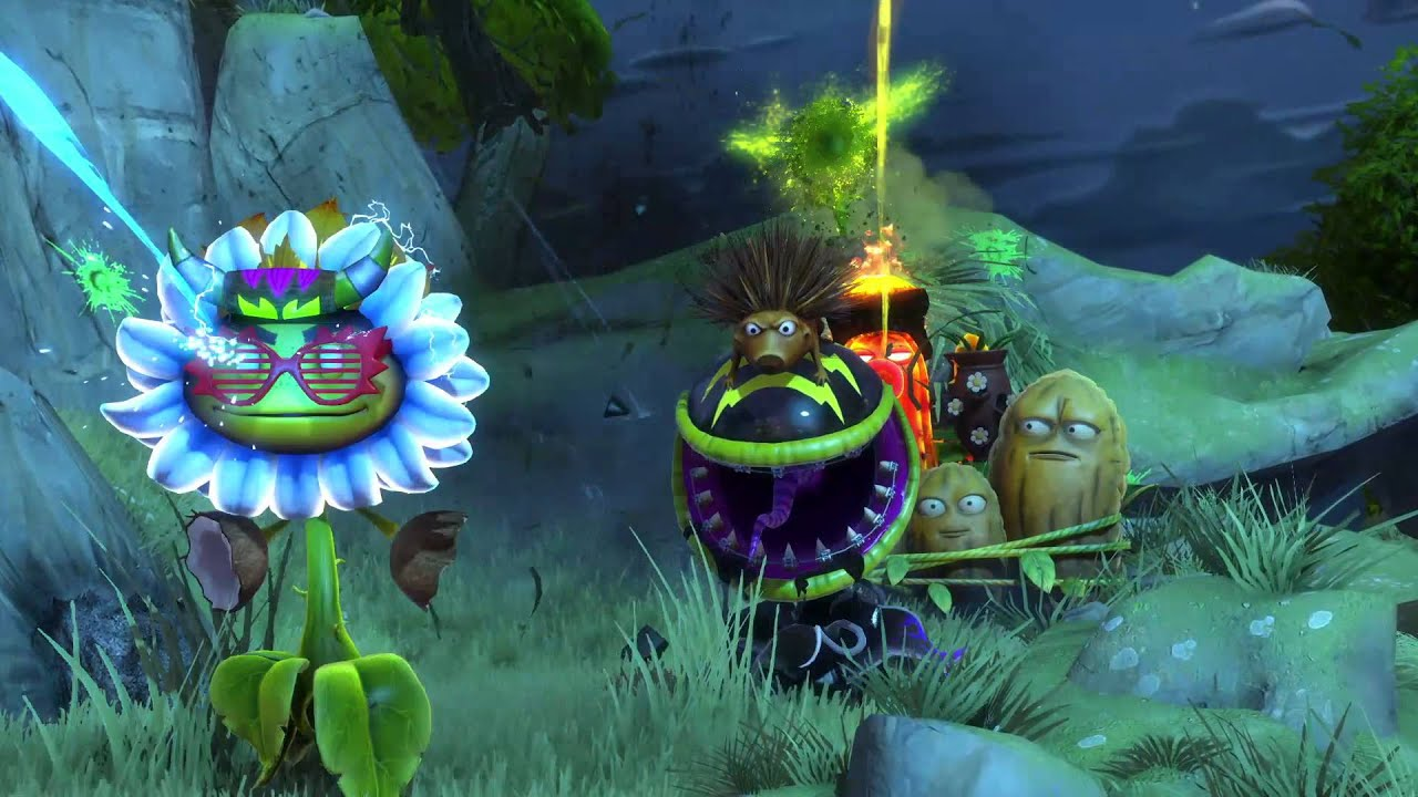 Zen Garten Plants Vs Zombies Plants Vs Zombies Garden Warfare Trailer De Lanzamiento
