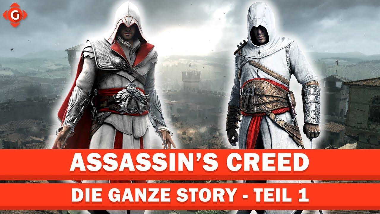 Assassin's Creed: Die ganze Story - Teil 1 | Die Ezio-Trilogie