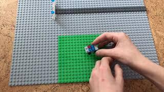 как быстро собрать полицейский мини-джип из деталей Лего