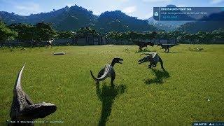 T-Rex VS I-Raptor VS I-Rex VS Carnotaurus VS Allosaurus VS Spinosaurus VS Baryonyx VS Suchomimus