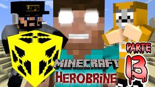 Minecraft: Herobrine #13 - Vamos Fazer a Bomba Nuke e Achamos Uma Mina Abandonada