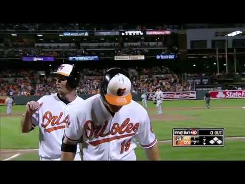 2012/06/13 Davis' broken-bat blast