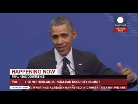 Obama: Annexation of Crimea 'not a done deal' - address at Nuclear Summit