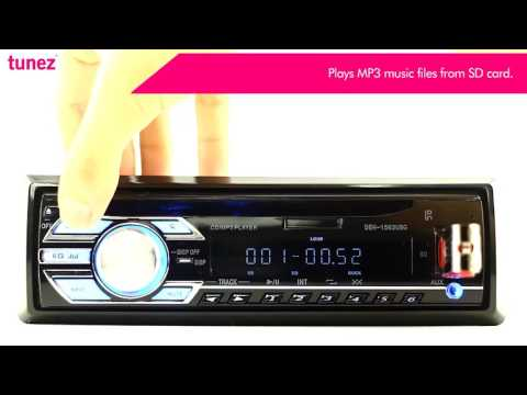 Single DIN Car CD USB MP3 SD Card FM Radio 1 ID3 Tag Head Unit Stereo Player Value For Money