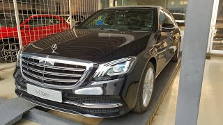In Depth Tour Mercedes Benz S450 W222 Facelift - Indonesia