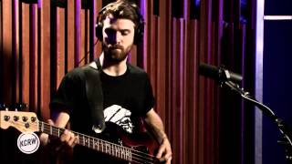 "Kins performing ""Aimless"" Live on KCRW"