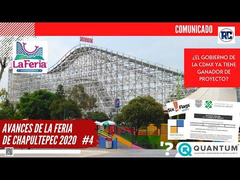 AVANCES DE LA FERIA DE CHAPULTEPEC 2020 | EL GOBIERNO DE LA CDMX PRESENTA PRÓRROGA | COMUNICADO | #4