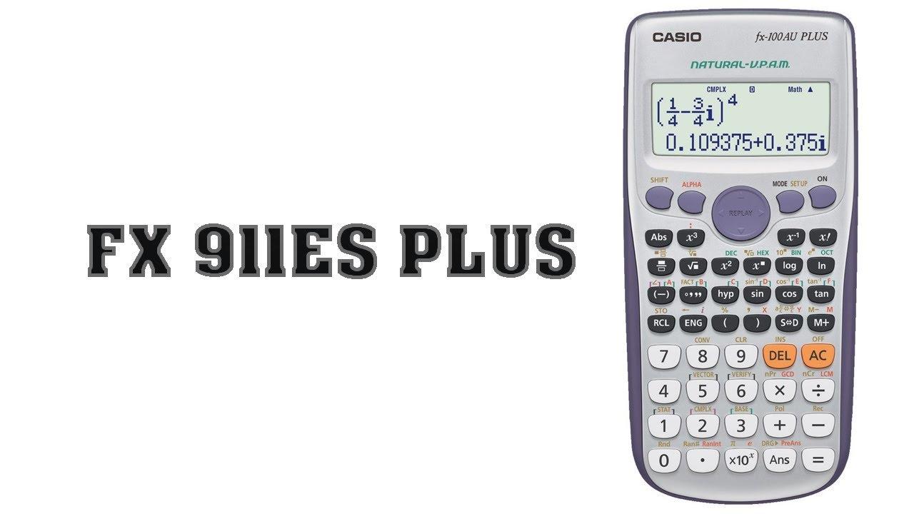 تحميل اله حاسبه Fx 911es Plus