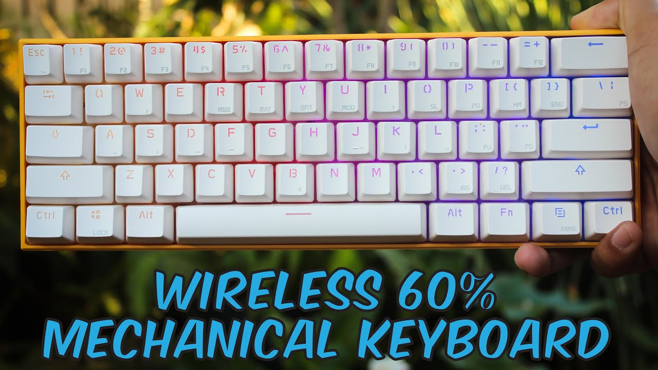 78d9e116d7b Anne Pro RGB Wireless Gaming Mechanical Keyboard - Unboxing & Review ...