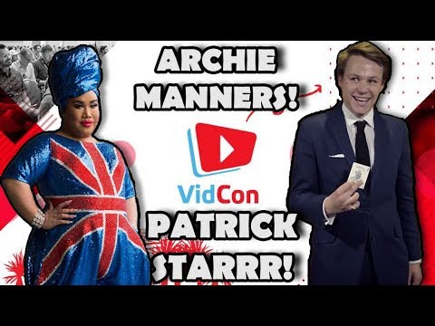 Archie Manners performs REAL MAGIC on Patrick Starrr || Vidcon London 2019 thumbnail