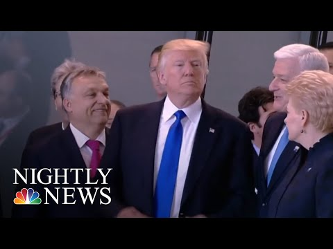 President Donald Trump Blasts NATO Ahead Of European Visit | NBC Nightly News