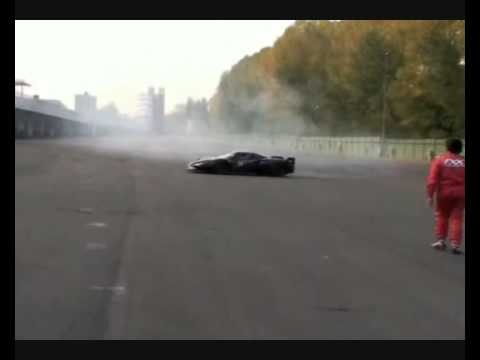 FERRARI ENZO FXX BURNOUT  ! ! ! $4 Mill Car ! ! !