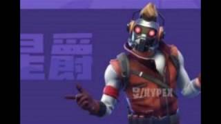 FILTERED SKIN of STAR LORD/FORTNITE X MARVEL