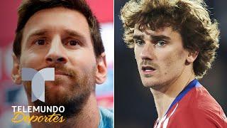 La tajante respuesta de Messi al preguntarle por Griezmann Telemundo Deportes