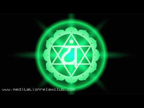 Inner Light | Green Anahata Chakra Balancing Music, Songs for Meditating & Body Harmony