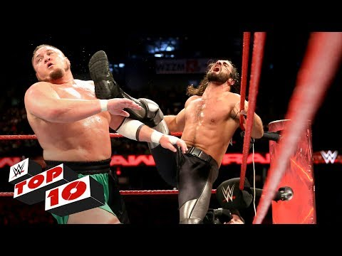 Thumbnail: Top 10 Raw moments: WWE Top 10, May 22, 2017
