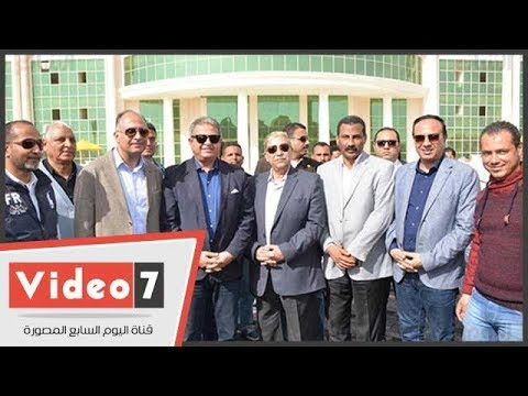 وزير الشباب والرياضة يتفقد مشروع نادى الإسماعيلى قبل افتتاحه  - 16:22-2018 / 2 / 10