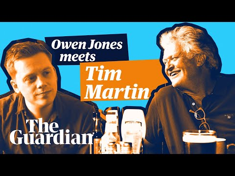 Owen Jones meets Tim Martin | 'Poverty wages? Don't ask childish questions'