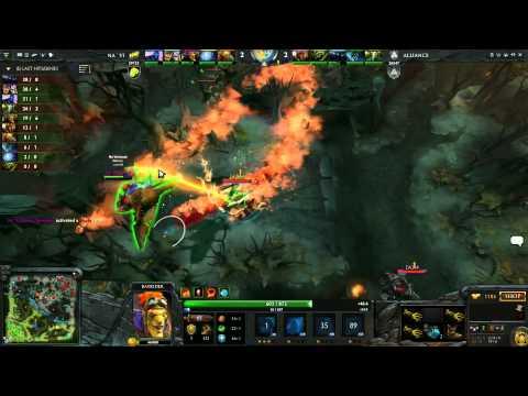 Alliance vs Na`Vi - TI3 Playoffs Grand Final - G2