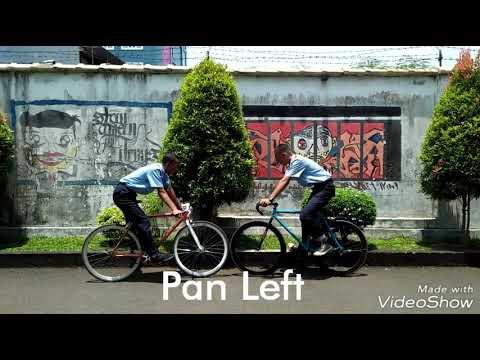 Teknik Pengambilan Gambar: PAN,Tilt,Zoom,track,arc,follow