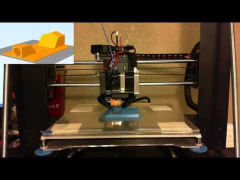 3D Printing!  Testing PSU Enclosure tweaks.