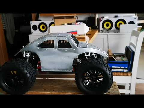 DIY Home made rc car body 1:10