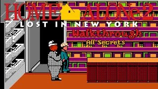 Walkthrough Home Alone 2 NES with all Secrets